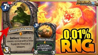 Hearthstone - 0.01% WITCHWOOD RNG WTF Moments - Funny and lucky Rng Moments