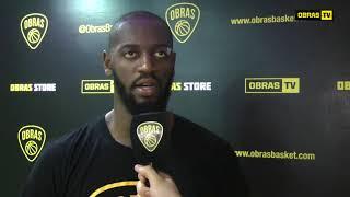 Joaquim Valdelicio Post Obras Basket 68-71 Boca (28-10-2017)
