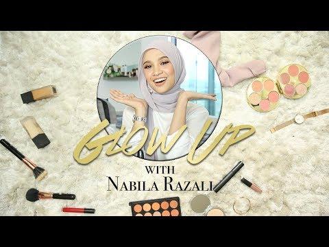 Glow-Up | Ep 1 | Get Nabila Razali's Top 3 Tudung Hijab Makeup Style Tutorial