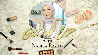 Glow-Up | Ep 1 | Get Nabila Razali's Top 3 Tudung Hijab Makeup Style Tutorial