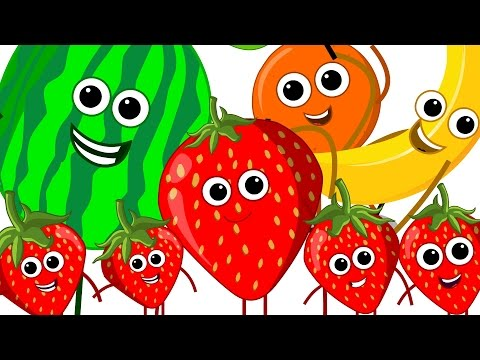 The Fruits Song | Learn Fruits | Nursery Rhymes | Kids Song | Kids Tv Nursery Rhymes