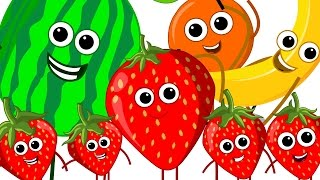 The Fruits Song   Learn Fruits   Nursery Rhymes   Kids Song   Kids Tv Nursery Rhymes