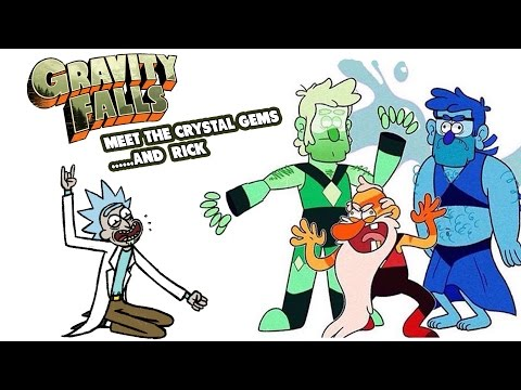 Gravity Falls Fan Comics Episode 5 Meet the Crystal Gems.....and Rick