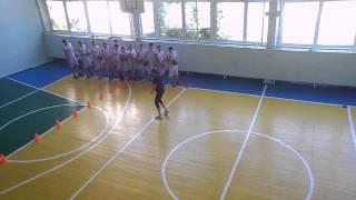 Відкритий урок з фізичної культури (баскетбол ) з підтримкою ІКТ