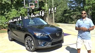 2016.5 Mazda CX-5 Grand Touring Review - The Extra Half Is Good
