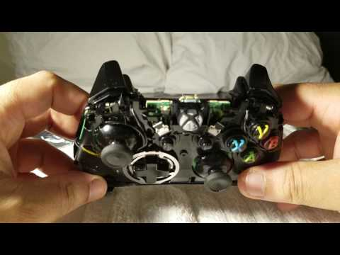 2017 How to replace Xbox One controller Bumper buttons