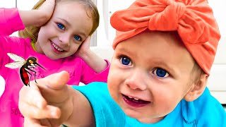 Canción infantil sobre mosquitos +otras Canciones infantiles de Maya y Mary