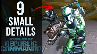9 SMALL Details in Star Wars: Republic Commando