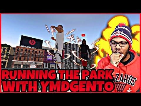 NBA 2K19 MyPark: DOMINATING THE PARK WITH YMDGENTO! CRAZY WIN STREAK!
