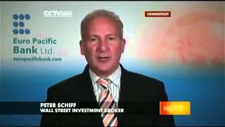Peter Schiff schools Ryan Clayton about simple economics.