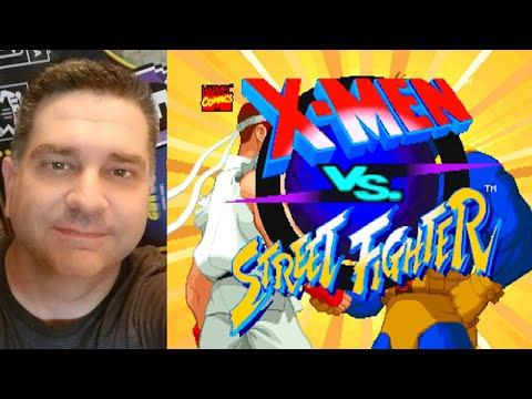 X-Men VS Street Fighter on my modded Arcade1up Machine! from NolaFam Arcade