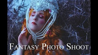 The Princess of Morning Frost - BTS - Fantasy Photo Shoot
