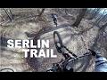 GROS RIDE AU SERLIN TRAIL EN VTT DH ! 😱 Big Crash // Full Serlin