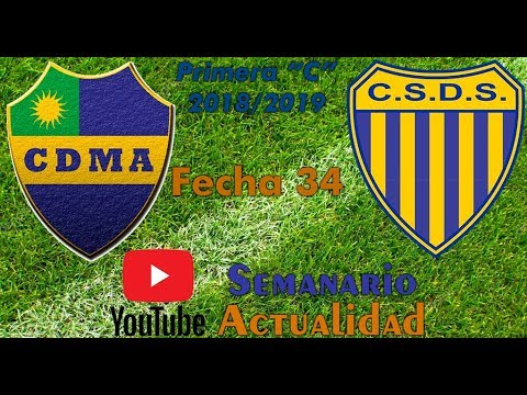 Primera 'C' 2018/2019 - Fecha 34 - Alem vs Dock Sud