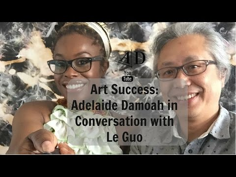 Art Discussion: Adelaide Damoah in Conversation with Le Guo
