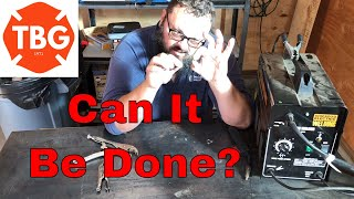 Welding A Washer On An Allen Wrench