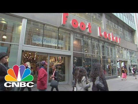 Earnings Ahead, Investors Should Consider Selling Foot Locker And Dick's | Trading Nation | CNBC