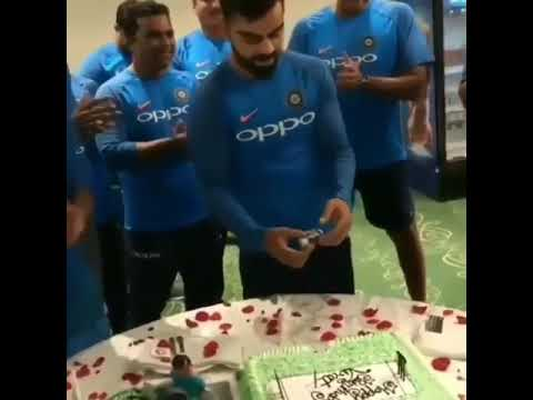 Happy birthday Virat Kohali 2017