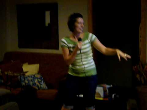 Karaoke night at the reunion...