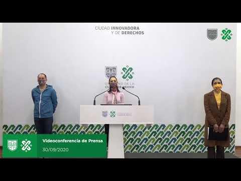 Videoconferencia de prensa 30/09/20