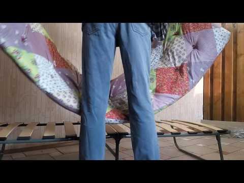 Раскладная кровать - Раскладушка на ламелях , с ортопедическим основанием