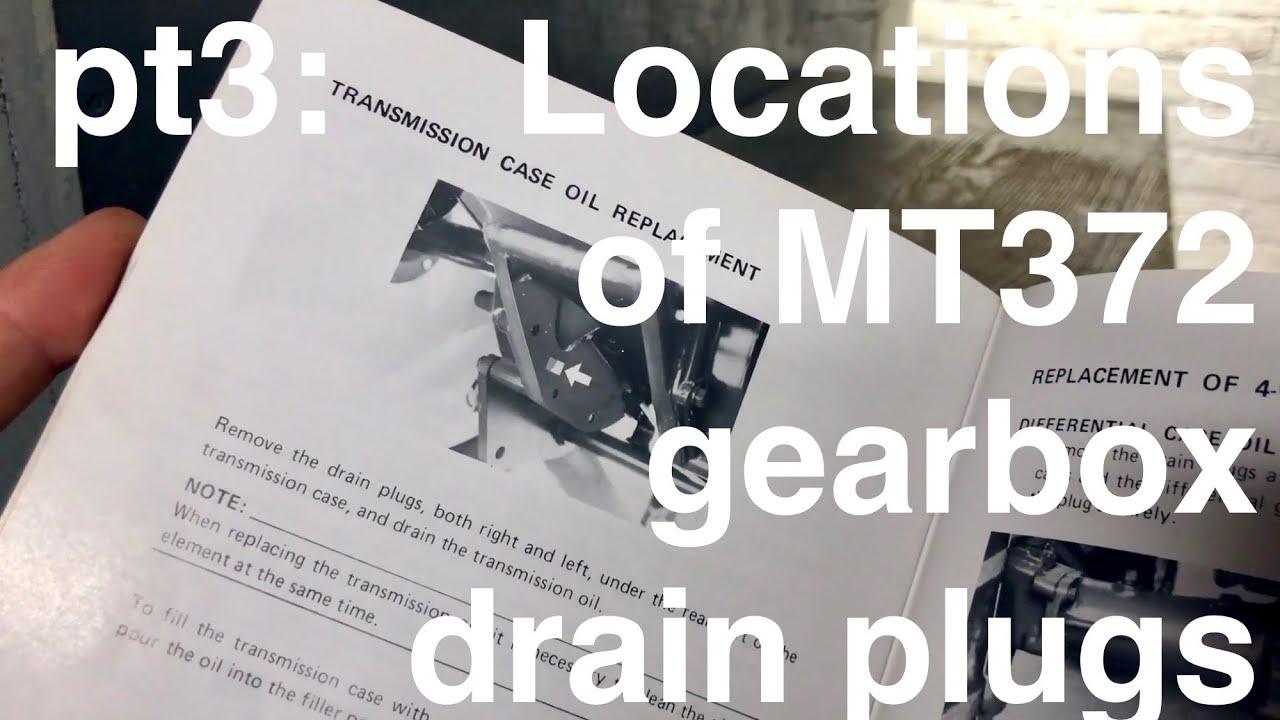 Mitsubishi Mt372 Manual