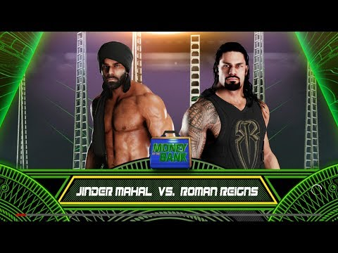Money In The Bank 2018 - Roman Reigns Vs...