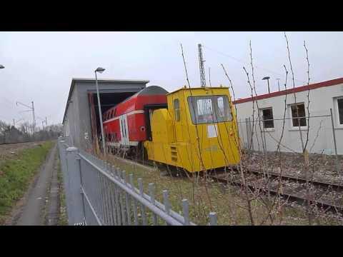 DEUTSCHE BAHN WASCHANLAGE - YouTube