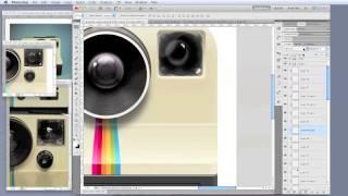 Polaroid Land Camera App Icon - Process Video