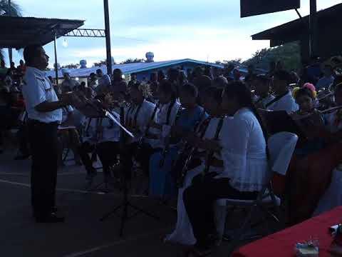 Banda de Música RAÚL STALIN - presentación en la Gala Folclórica - Colegio San Félix
