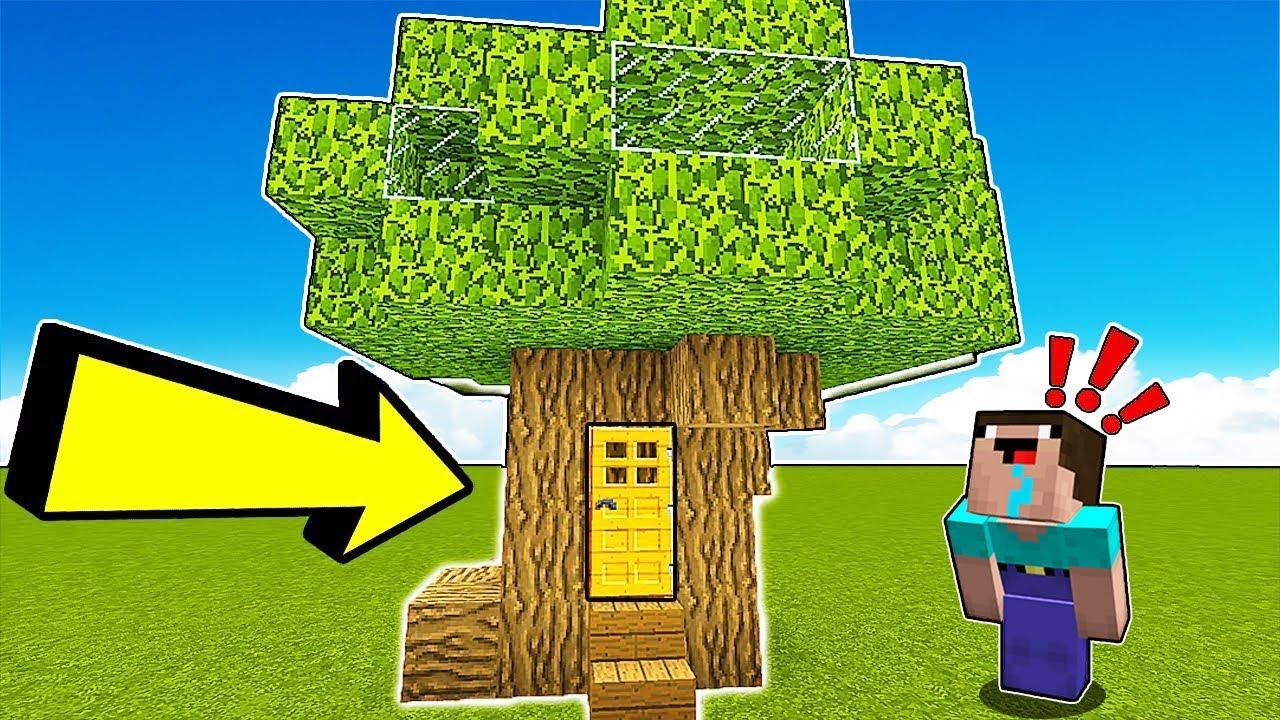 Minecraft NOOB vs PRO : TREE HOUSE BUILD CHALLENGE ...