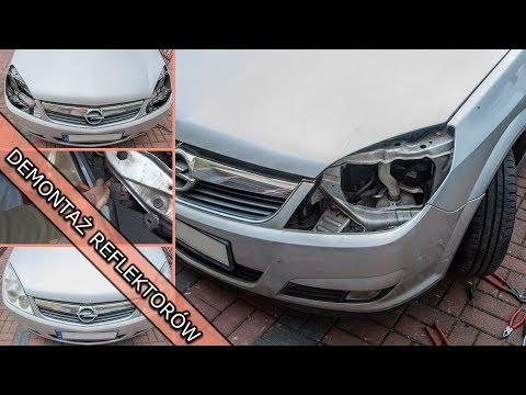 Jak Demontuje Reflektor Przedni Opel Vectra C Youtube