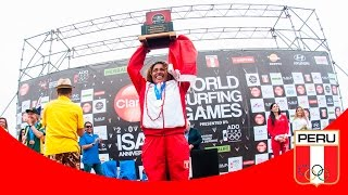 Analí Gómez ganó Antorcha Olímpica 2014-video