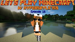 Let's Play Minecraft Episode 16 Shaders Now
