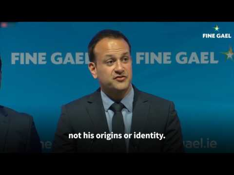"Leo Varadkar: ""Prejudice has no hold in this Republic"""