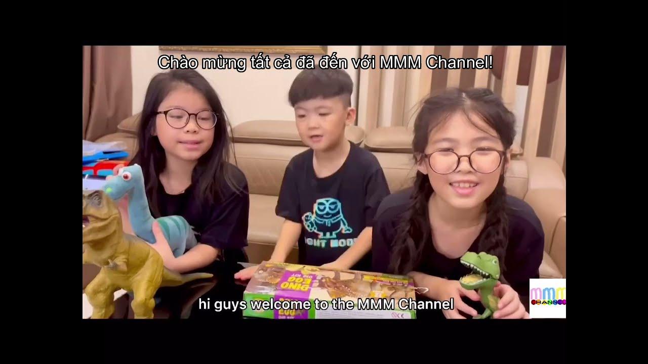 Unboxing Dino Egg Kit | #MMMChannel