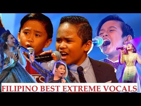 FILIPINO SINGERS BEST EXTREME VOCALS!!!