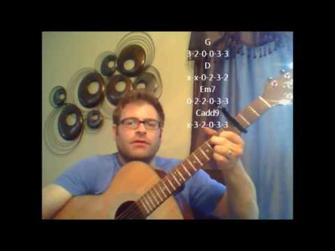 How To Play Florida Georgia Line Cruise On Acoustic Guitar Youtube