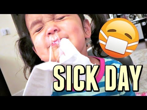 SICK DAY AT HOME! - October 24, 2017 -  ItsJudysLife Vlogs