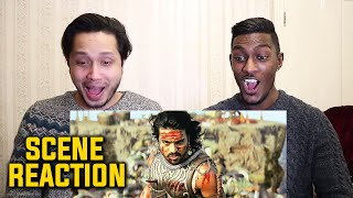 Magadheera 100 Soldiers Fight Scene Reaction |Ram Charan Teja | Kajal Aggarwal