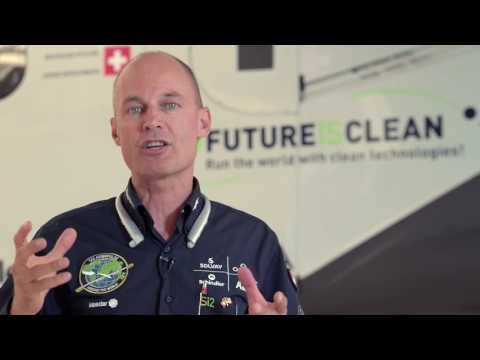 Bertrand Piccard: Round-the-World Solar Flight to Promote Clean Technologies