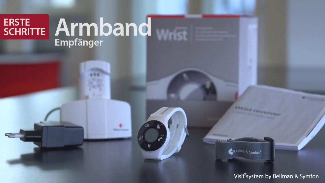 video Bellmann&Symfon Visit 868 Überwachungssystem mit Armbandempfänger