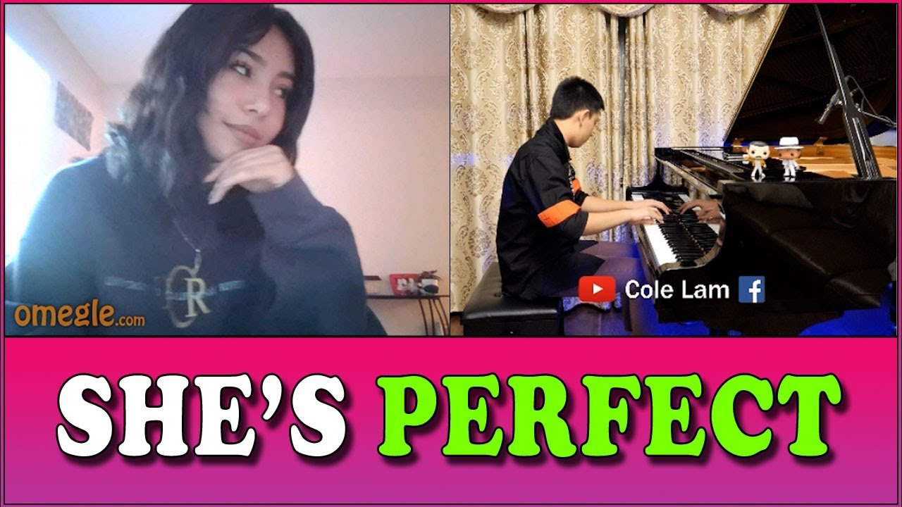 She's PERFECT - Thunderstuck and Stormzy Taking Piano Requests on Omegle | Cole Lam