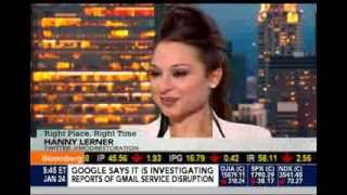 Hanny Lerner Live on Bloomberg News with Pimm Fox