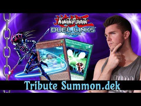 Yu-Gi-Oh! Duel Links w/ Kwikpanik - Tribute Summon.dek featuring DMoC!