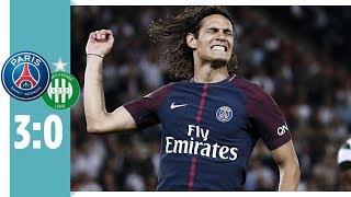 Paris Saint-Germain - AS St. Étienne 3:0   Doppelpack Cavani