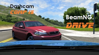 BeamNG. Drive - Dashcam Crashes Compilation 15 [Real Voices]