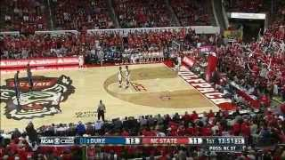 2015.01.11 Duke Blue Devils at NC State Wolfpack Basketball