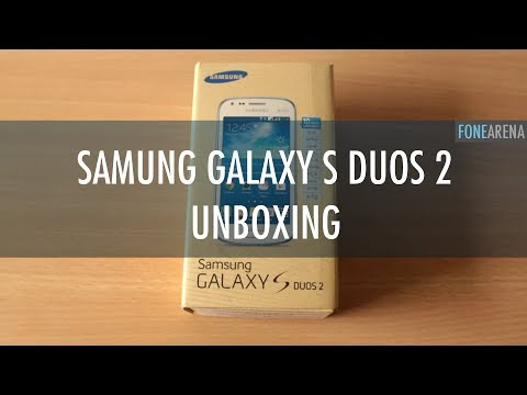 Samsung Galaxy S Duos 2 Unboxing