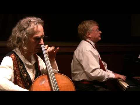 La Cinquantaine - Gabriel Marie. Cello Georg Mertens - piano Gavin Tipping